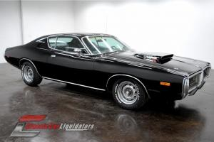 1972 Dodge Charger Big Block 383 V8 Automatic TX9 Black on Black LOOK AT THIS