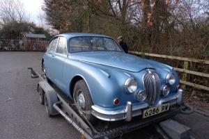 JAGUAR MK 2 3.4 MOD 1961 RESTORATION PROJECT ORIGINAL COVENTRY REG NO.