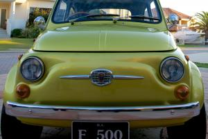 Fiat 500 Abarth Spec 1969 2D Sedan 5 SP Manual 499 CC Carb