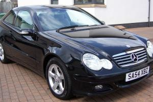 MERCEDES C180 KOMPRESSOR SE AUTOMATIC SPORTS COUPE ONLY 34000 Miles