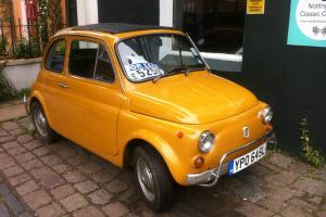 RELUCTANT SALE FIAT 500 BAMBINA -1972