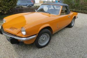 1976 TRIUMPH SPITFIRE 1500 ORANGE  Photo