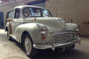 Morris traveller 1000cc manual