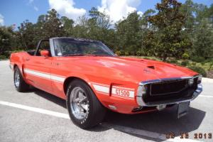 1969 Ford Mustang Shelby GT 500 Convertible with A/C Full Frame Off Restoration