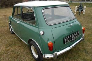 1967 Morris mini mk1, gen 24,000mls from new, immaculate original condition,