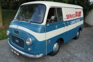 Fiat Furgone workshop 1966 - RARE