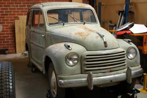 1948 Fiat Topolino Belvedere Wagon 500C Original Barn Find Easy Restoration