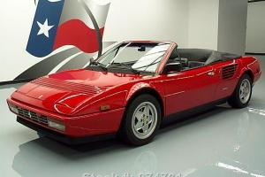 1988 FERRARI MONDIAL 3.2 CABRIOLET 4SEATER A/C ONLY 22K TEXAS DIRECT AUTO