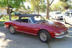 1967 Fiat Dino Spider. Soft top and hardtop. Good original floors. Easy project.