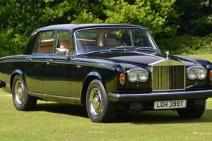 1979 ROLLS ROYCE Silver Shadow II with just 62K miles.  Photo