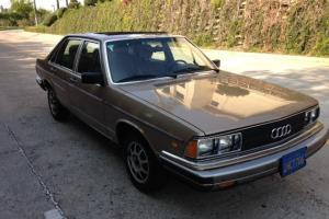 1983 Audi 5000S Classic Unmolested 57k Original miles Calif Photo