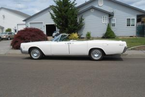 1966 LINCOLN CONTINENTAL CONVERTIBLE ,SURVIVOR WITH 25K ORIGINAL MILES 1 OWNER
