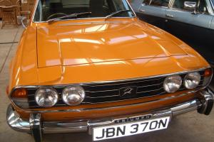 1975 TRIUMPH STAG AUTO ORANGE