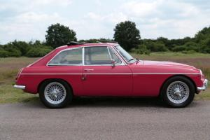 1969 MG C GT RED, AMAZING HISTORY, 27 OLD MOTS, LAST OWNER 31 YEARS