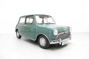 Impeccable Morris Mini Minor Super-de-Luxe with Only 36,584 Miles and Low Owners