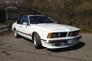 BMW 635 CSI HIGHLINE E24 Alpine White