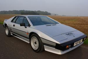 Lotus Esprit Turbo, 1983. (Manufactured in 1982). Silver Frost metallic.