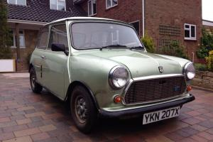 1982 CLASSIC AUSTIN MINI 1000cc HLE CITY E 1 OWNER 26000 Miles BARN FIND
