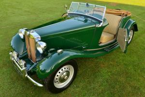 1953 MGTD Midget. Complete Photographic Restoration.  Photo