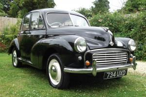 1956 MORRIS MINOR SPLIT SCREEN, OUTSTANDING CAR