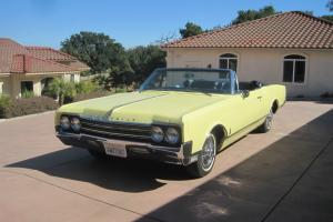 1965  Olds Dynamic 88 Conv, A/C All options, Factory Original Restored