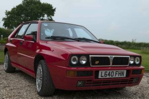 1993 LANCIA DELTA HF INTEGRALE EVO 2,MONZA RED, ORIGINAL STANDARD CAR FOR UK