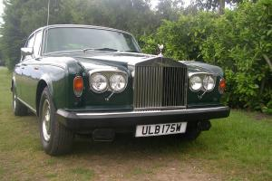 1981 ROLLS ROYCE GREEN SILVER SHADOW 2
