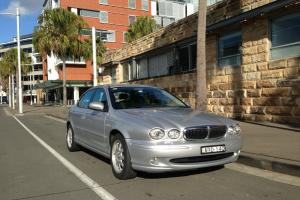 Jaguar X Type 2004 4D Sedan 5 SP Automatic 2 1L Multi Point F INJ 5 Seats