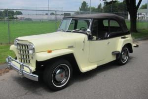 1950 WILLYS JEEPSTER CONVERTIBLE 5836 MADE