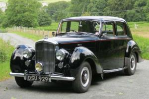 1954 Bentley R Type Automatic Saloon B141WG