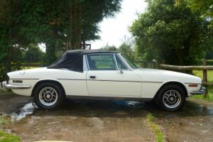 1976 TRIUMPH STAG AUTO WHITE  Photo