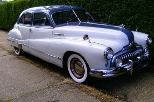Buick Eight Right Hand Drive. Ideal Wedding Car