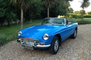 MGB Roadster Chrome Bumpers  Photo