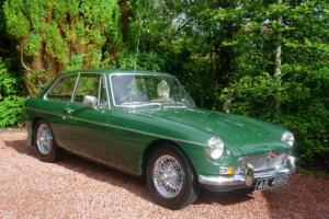 MGB GT Pristine Restoration, New Heritage Shell , Beautiful  Photo