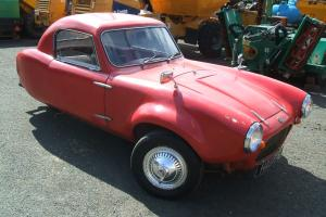 Berkeley T60 850 cc three wheeler 1960 with MOT