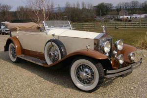 1927 ROLLS ROYCE PHANTOM 1 SPRINGFIELD TOURER LHD  Photo