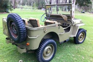 Willys MB WW2 Army Jeep GPW
