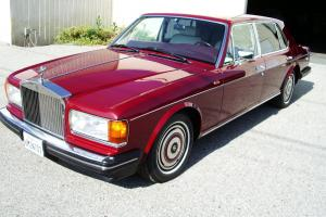 1989 Rolls Royce Silver Spur Mark II LWB Sedan w/16,000 miles Gorgeous! Perfect! Photo