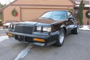 1985 BUICK GRAND NATIONAL 2 OWNERS (ONLY 2012 BUILT)