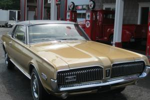 1968 MERCURY COUGAR - HARDTOP ONLY 2132  MILES