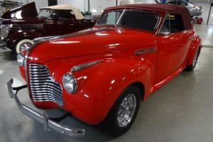 1941 Buick Convertible Rusto Rod/Street Rod 327 V8 Automatic Leather