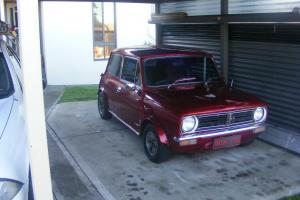 Leyland Mini S Coupe 998cc 4 Speed Candy Apple RED Paint  Photo