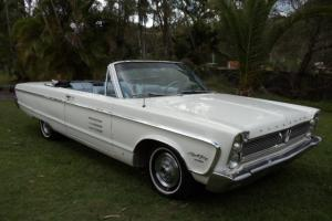 Plymouth Sports Fury Convertible 1966