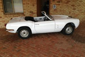 Triumph Spitfire MK 3 1970 2D Sports 4 SP Manual 1 3L Carb