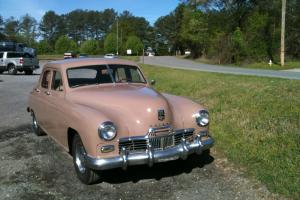 1948 Kaiser Special 4 Door Sedan Flat Six New Interior