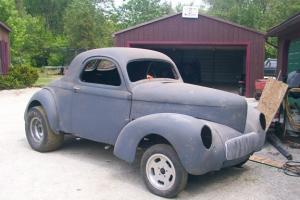 41 steel willys coupe nostalgia gasser magnesium halibrands Photo