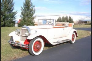1930 Packard 733 Rumble Convertible Coupe - Fully serviced Classic 30 Packard