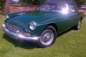 MGB Roadster 1971 BRG With overdrive. Tax Exempt Ready To Go Fully Serviced  Photo