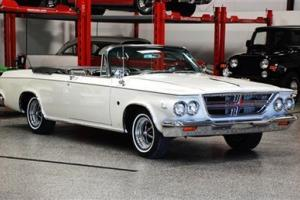 1964 CHRYSLER 300 K CONVERTIBLE RESTORED VERY RARE  413 C.I. 390 H.P. DUEL QUAD!