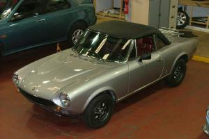 FIAT 124 SPIDER 2000 CS2 - PININFARINA - LHD - RESTORED OVER 12 MONTHS